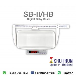 Digital Scale Baby Model SB-II/HB